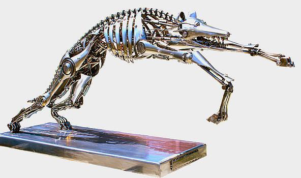 Robotic Greyhound by Greg Coffelt