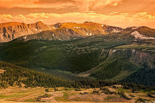 Rock Cut Rocky Mountain National Park 2634  by Ken Brodeur
