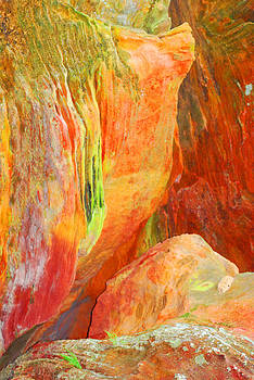 Rock House Colour 3 by Peter  McIntosh