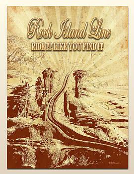 Rock Island Line Comics by Brian D Meredith