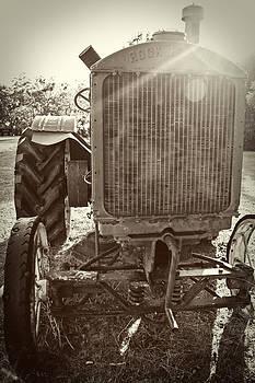 Rock Island Tractor by Tiffany Zumbrun