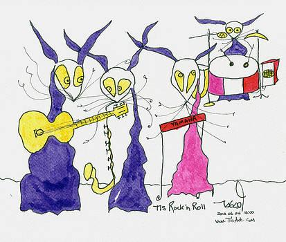 Rock 'n Roll by Tis Art