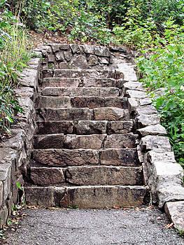Rock Stairs by Carol Kristensen