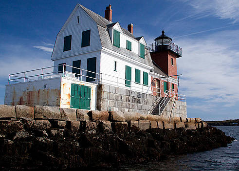 Rockland Breakwater Lighthouse by Frank Pietlock
