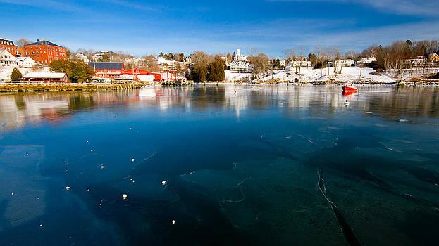 Rockport Harbor Ice by Kevin Kratka