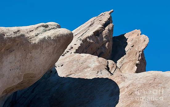 Rocks In Perspective by Dan Holm