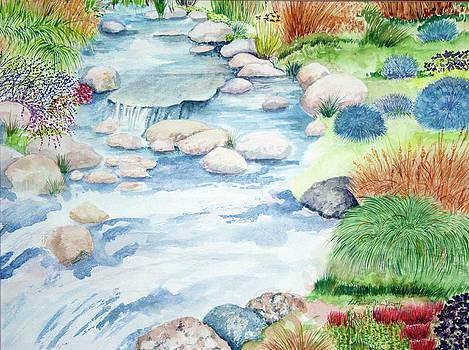 Rocky Creek by LaReine McIlrath