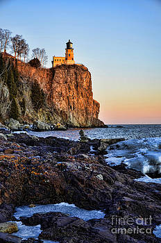 Rocky Light by Whispering Feather Gallery