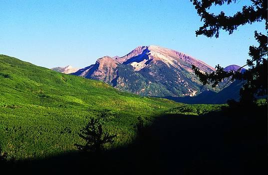Rocky Mountain peak by Jaye Crist