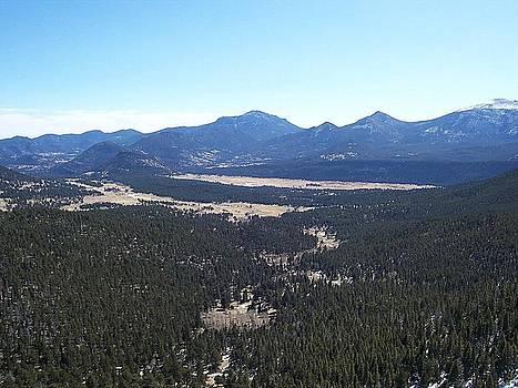 Rocky Mountain Vista by Tony Hammer