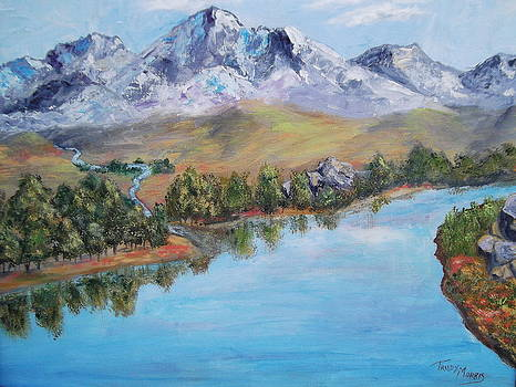 Rocky Mountains by Trudy Morris