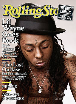 Rolling Stone Cover - Volume #1076 - 4/16/2009 - Lil Wayne by Peter Yang
