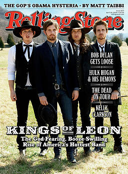 Rolling Stone Cover - Volume #1077 - 4/30/2009 - Kings of Leon by Max Vadukul