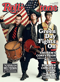 Rolling Stone Cover - Volume #1079 - 5/28/2009 - Green Day by Sam Jones