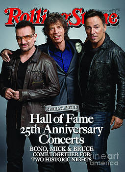 Rolling Stone Cover - Volume #1092 - 11/26/2009 - Bono, Mick Jagger, and Bruce Springsteen by Mark Seliger