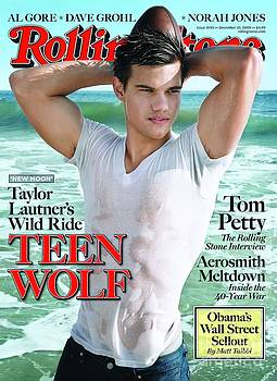 Rolling Stone Cover - Volume #1093 - 12/10/2009 - Taylor Lautner by Mark Seliger