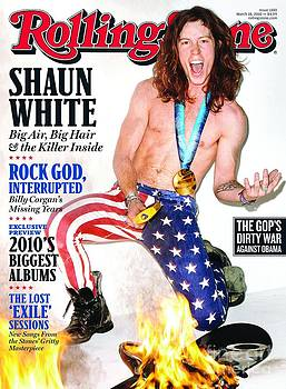 Rolling Stone Cover - Volume #1100 - 3/18/2010 - Shaun White by Richardson Terry