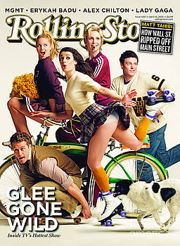 Rolling Stone Cover - Volume #1102 - 4/15/2010 - Cast of GLEE by Seliger Mark