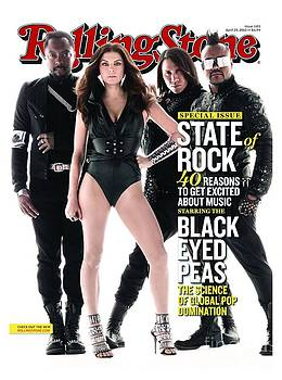 Rolling Stone Cover - Volume #1103 - 4/29/2010 - Black Eyed Peas by Seliger Mark