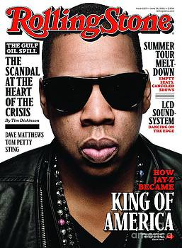 Rolling Stone Cover - Volume #1107 - 6/24/2010 - Jay-Z by Seliger Mark