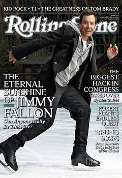 Rolling Stone Cover - Volume #1122 - 1/20/2011 - Jimmy Fallon by Robert Trachtenberg