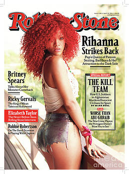 Rolling Stone Cover - Volume #1128 - 4/14/2011 - Rihanna by Mark Seliger
