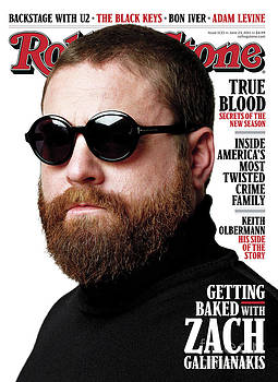 Rolling Stone Cover - Volume #1133 - 6/23/2011 - Zach Galifianakis by Theo Wenner