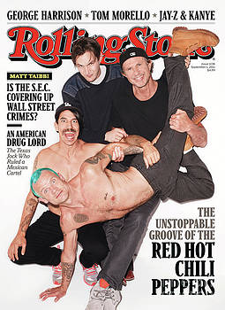 Rolling Stone Cover - Volume #1138 - 9/1/2011 - Red Hot Chili Peppers by Terry Richardson
