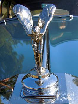 Rolls Royce Spirit Of Ecstasy by Joy Tudor