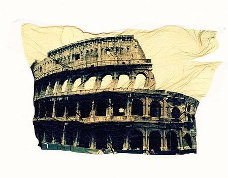 Roman Colloseum by Gwen Strahan