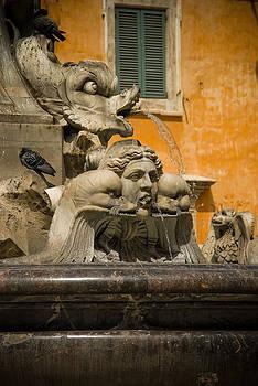 Roman Fountain by Jen Morrison