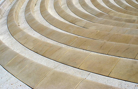 Roman Theatre Seats by Christopher Brown