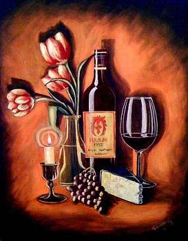 Romance Me With Wine by Silvia Garcia