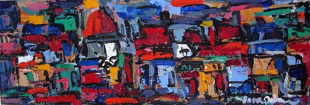 Rome Composition 02 by Len Yurovsky