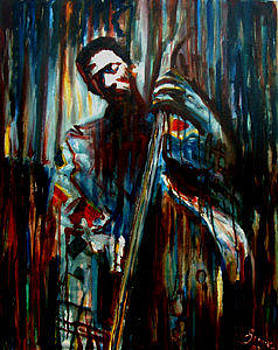 Ron Carter by Grant Aspinall