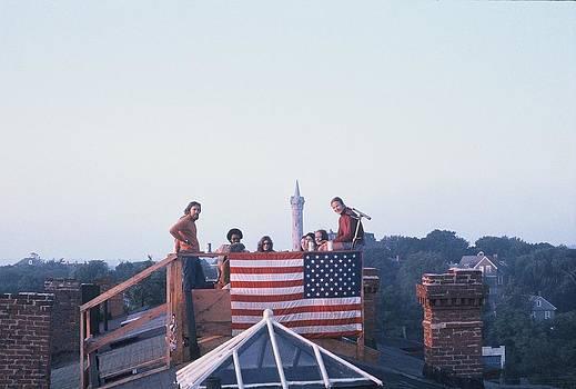 Roof Deck 1965 by Daniel Burnstein