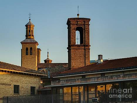 Roofs and Churches by Alfredo Rodriguez