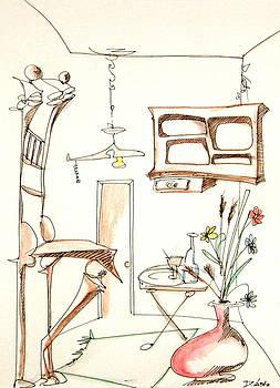 DENNY CASTO - Room Plus Still Life