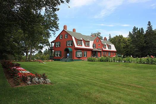 Donna Walsh - Roosevelt Summer Home atr Campobello Island