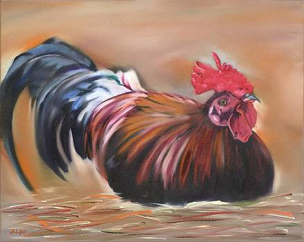 Rooster by Pamela Bell