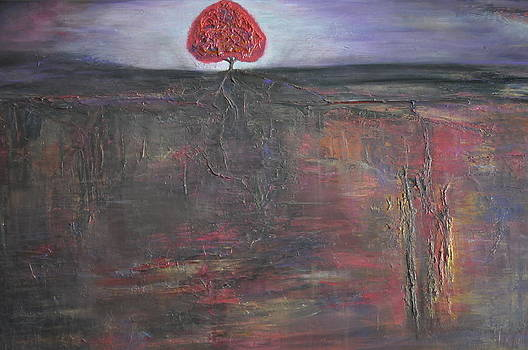 Roots on Fire by Tree Girly