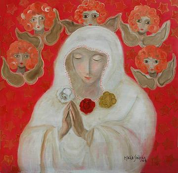 Rosa Mistica by Maria Matheus Maria Santeira