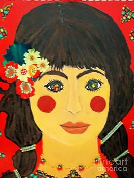 Rosa with the rosy cheeks by Viva La Vida Galeria Gloria