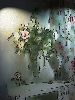 Roses in a Vase by Morgana Blackcat