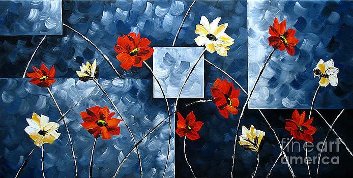 Rosy Splendor by Uma Devi