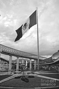 Roundabout Flag by L E Jimenez