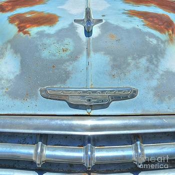 Route 66 Chevy Abstract by John Kelly