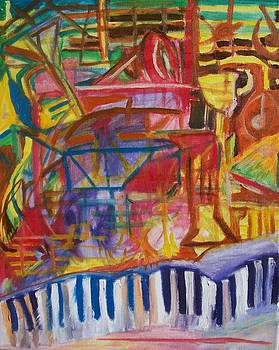 Routes Of Jazz by James Christiansen