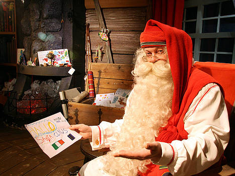 Rovaniemis santa claus by Holger Persson
