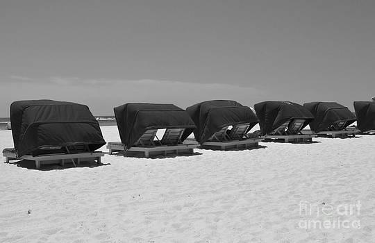 Row of Cabanas by Denise Ellis